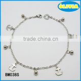 Olivia Jewelry China Factory Wholesale Fashion 316L Stainless Steel Jewelry With Anchor Charms