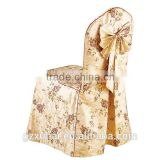 Factory wholesale wedding rosette chair cover