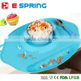 2016 food grade Waterproof Silicone Pad Mat Infant Tiny Diner Portable Placemat for Baby Feeding baby place mat