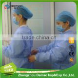 Hospita blue non-woven fabric surgical gown