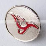 Metal Crafts of Crazing buying gold button badges for t-shirts zhongshan factory in china