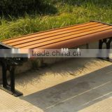 AVID brand high quality and low price fancy WPC garden bench