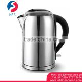 1.8L Best Electric Water Kettle With Tray Set Heating Element Stainless Steel Kettle Electric