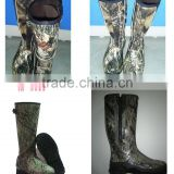 hunting camo rubber boot
