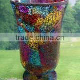 Large Mosaic Glass Hurricane 2014 new