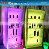 led wine cabinet/ water proof storage container/colorful storageLED ice bucket/color chaning outdoor planter