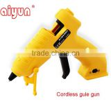 li-ion battery glue gun cordless hot melt glue gun lithium battery glue gun