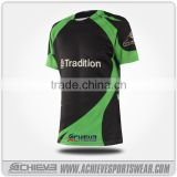 Printed custom rugby jersey, custom sublimation club rugby t shirt, team set rugby uniforms