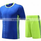 Sublimation football shirt high quality soccer kits suit blank soccer jersey paypall