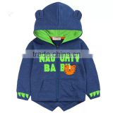 personalized unisex zipper-up design water printing fleece newest top grade 80 cotton 20 polyester hoodies