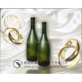 Wine bottles glass frosting powder