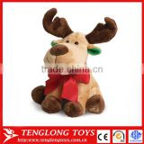 Yangzhou Factory Direct Sale Plush Stuffed Toy Christmas Gift Christmas Reineer