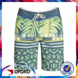 Digital printing beach shorts custom sex xxxxl men plain bathing suit
