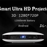 Wejoy DL-S9 Mini  Smart Portable Projector built in Android System HD 1080P Home theatre