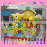 Outdoor party inflatable fun city,inflatable playground toys