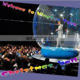 Stage inflatable bubble balloon decorations/show globe for performance