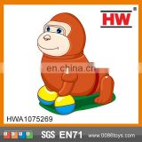 Funny B/O Orangutan Walking Toys with music and light plastic animal toys