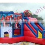 Cheap commercial princess theme inflatable bouncer combos CC068
