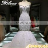 elegant bridal dresses for women beaded back fish cut gown images factory price backless wedding dress patterns