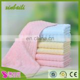 china supplier organic bamboo fiber jacquard face towel