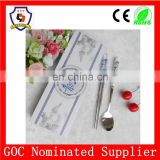 Chinese Blue And White Porcelain Spoon And Fork Wedding Gift