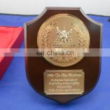 High Quality Dubai Stars Lifting Championship Table Decoration Metal Wood Trophy