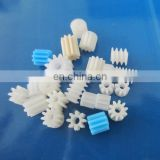 high quality plastic cnc machining industrial children toy accessory PA nylon diving pinion gear