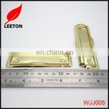 Factory supply stationery accessories 100mm gold metal board clip