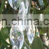 2015 Iridescent new hot sale acrylic crystal garland , crystal garland for christmas tree