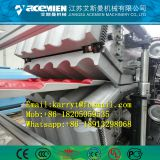 PVC glazed roof tile machine/ bamboo tile production line