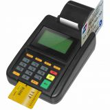 Credit card machine plastic molded enclosure/injection moulded housing for POS