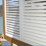 Anti-UV PVC Shutter Louver For Housing Window And Door