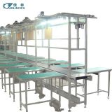 Assembly line Belt Conveyor with working table