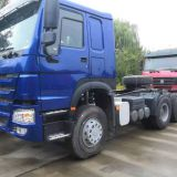 6x4 10 Wheels Prime Mover Truck Euro2 420hp Heavy Duty Tractor Head