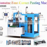 Examination of the scene PLC Grey Paper Board Color Automatic Four Corners Pasting Machine with CE & ISO Certificate YL-40AT