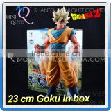 MINI QUTE 23 cm goku dragon ball z anime action figures models brinquedos boys gifts/toys for children NO.MQ 110