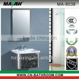 Modern stainless steel bathroom vanity set MA-8038