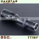 DAKSTAR TT16F 850LM 18650&CR123A Side Switch Stepless Diming LED Mini Flashlight With CREE                                                                         Quality Choice