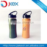 FDA Approved single wall suction nozzle handled stainless steel sports bottle