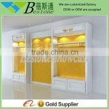 Luxury wooden retail clothing store furniture for sale