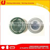 32mm oil can Plastic Lids/screw bottle cap/metal tin cap
