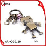 2016 factory fashion gift customized Metal robot keychain                                                                         Quality Choice