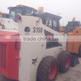 Skid steer loader S150 used condition US made Liugong S150 mini skid steer loader second hand S150 skid steer loader
