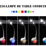3-grade brightness touch dimmer cheap pool table lights with RGB 256C living color light LED table lamp