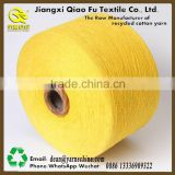 Recycled cotton yarn cheap carpet yarn open end yarn mill end yarn for knitting carpet