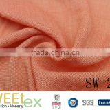 sweetex viscose polyester rayon two-tone color yarn dyed look dobby slub fabric                                                                                                         Supplier's Choice