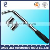 High Quality Pipe Wrench Type and Steel Pole Material Labor Saving Wrench Telescopic Handle Type wrench