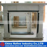 2016 new design white marble fireplace for sale                                                                                                         Supplier's Choice