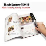Cordless Scanner A4 Color Handyscan 900DPI Portable Handheld Scanner for Document Receipt