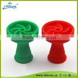 wholesale heat resistant none stick silicone hookah bowl